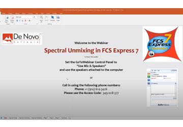 Thumbnail Spectral Unmixing Webinar
